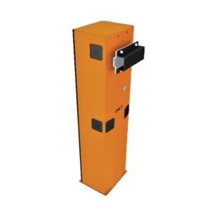 Тумба G4000 шлагбаума из оцинкованной и окрашенной стали для левостороннего монтажа, класс защиты IP54.