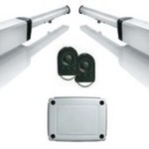 Комплект приводов (электроприводов) Ixengo L 3S RTS стандарт 24V Somfy для автоматизации распашных автоматических ворот (створка до 400 кг и до 4 м)