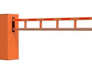 Антивандальный автоматический шлагбаум для проезда шириной до 7 м
