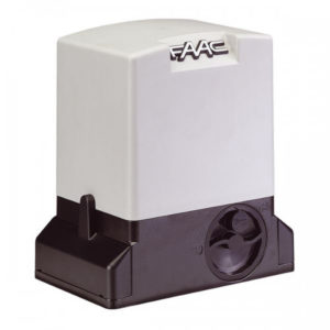 Электропривод (привод) FAAC 741 E для автоматизации автоматики откатных ворот весом до 900 кг