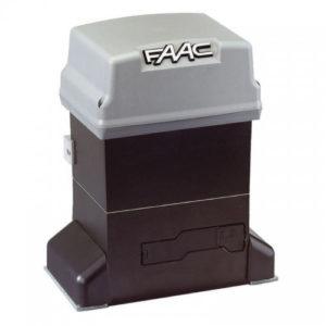 Электропривод в масляной ванне FAAC 844ER для автоматизации автоматики откатных ворот весом до 1800 кг