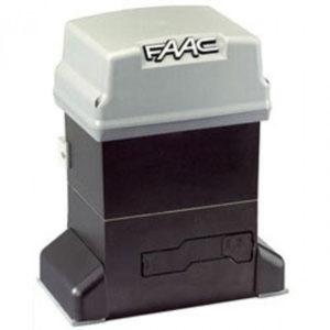 Электропривод в масляной ванне FAAC 844 R 3PH для автоматизации автоматики откатных ворот весом до 2200 кг