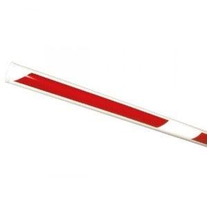 Стрела для шлагбаума FAAC круглая поворотная Ø85мм со светоотражающими наклейками 2500мм