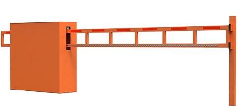 Антивандальный автоматический шлагбаум для проезда шириной до 4 м