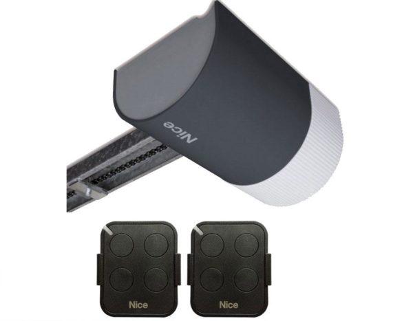 SHEL75KCE — комплект Nice для секционных ворот высотой до 2,4 м и площадью до 9,6 кв м