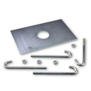 NICE XBA17 анкерная пластина с крепежом для LBAR