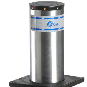 BFT GRIZZLY 275/600-6 SCT LIGHT VERN боллард гидравлический с подсветкой