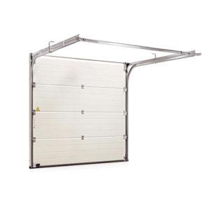 Секционные ворота Hormann 2375x2080 мм. с металлическими направляющими