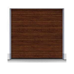 Секционные ворота Hormann 2440x1955 мм