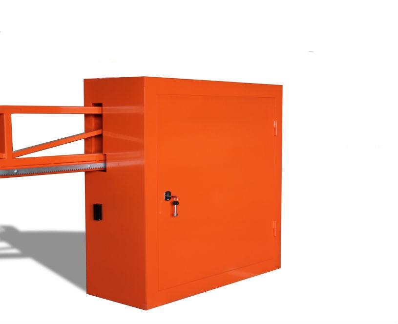Антивандальный автоматический шлагбаум для проезда шириной до 4,5 м