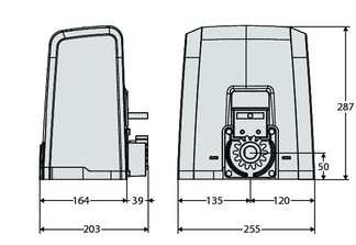 Размеры Deimos AC A800