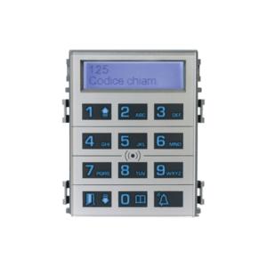 DCOMBO — сенсорная кодонаборная клавиатура для панелей THANGRAM с информационным дисплеем и считывателем