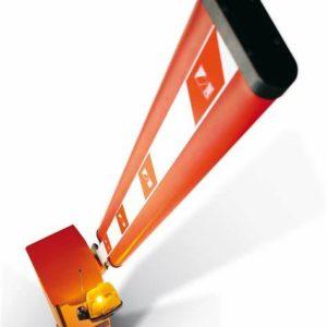 Комплект шлагбаума GARD 4000 для левостороннего монтажа (тумба, стрела, светоотражающие наклейки, наклейки резиновые)