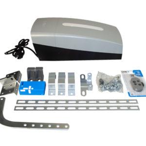 КОМПЛЕКТ VER 06 Комплект автоматики для секционных ворот на основе привода VER06DES (встроенный блок управления, радиоуправление, направляющий профиль)
