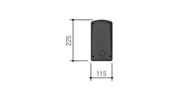 CAME ZR24 — блок управления для одного привода с питанием двигателя 230 В